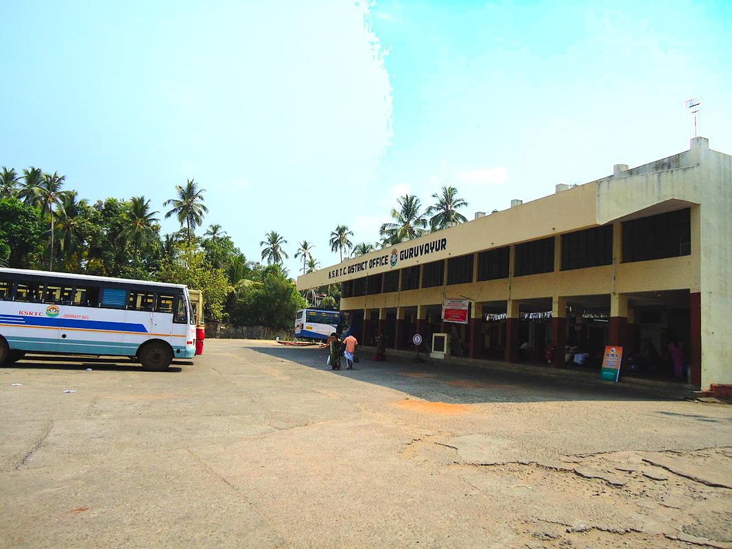 1280px Guruvayur KSRTC bus station