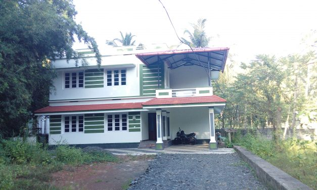 3 BHK House in  4 cent land for sale in Iringappuram, Guruvayur