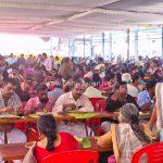 ഭക്തജനങ്ങളുടെ സ്നേഹാദരങ്ങൾ ഏറ്റുവാങ്ങി  ഗുരുവായൂർ അന്നദാനകമ്മിറ്റി