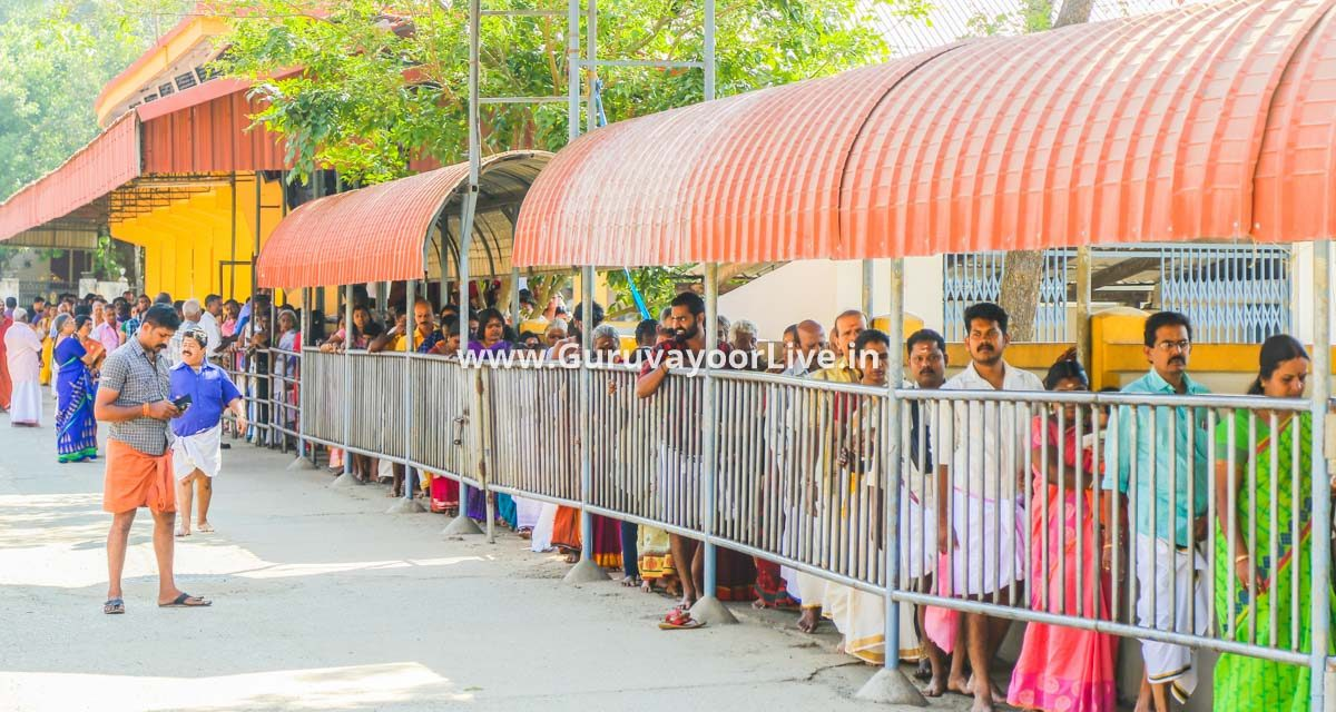 Guruvayur Temple Crowd