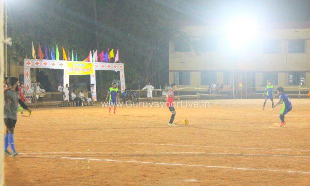 ബ്രതെഴ്സ് ക്ലബ് തിരുവെങ്കിടം അണിയിച്ചൊരുക്കിയ  ഫ്ളഡ് ലൈറ്റ്   മത്സരങ്ങൾ അവസാനഘട്ടത്തിൽ
